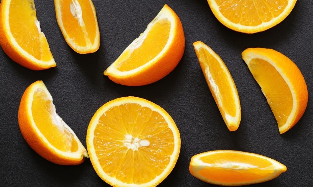 Sliced Oranges for Guinea Pigs
