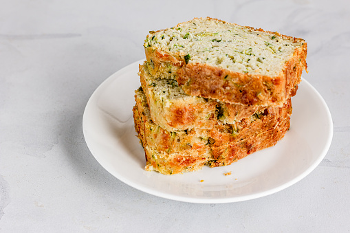 Zucchini Bread - Not a Food for Guinea Pigs