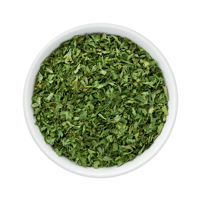 Dried Parsley Flakes - Not a Food For Guinea Pigs